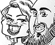 entertainment caricatures